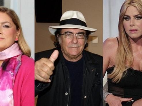 Albano Carrisi mantiene le distanze da Loredana Lecciso e Romina Power