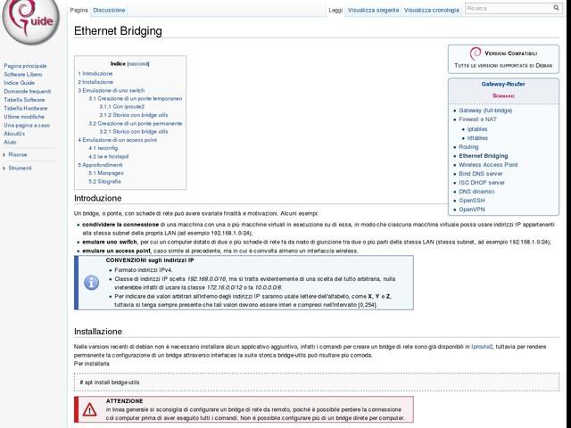Ethernet Bridging