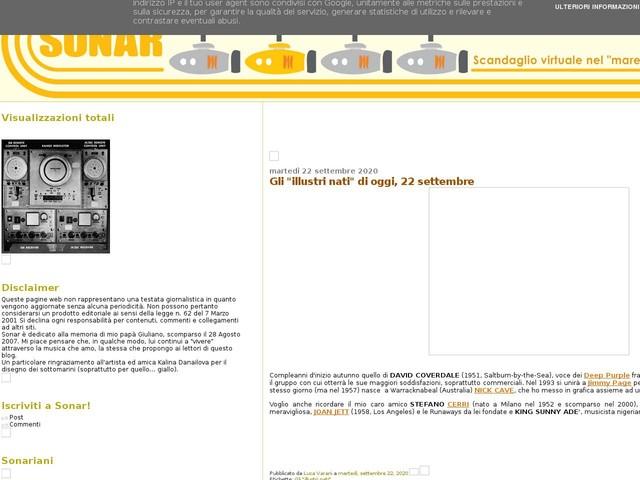 """Gli """"illustri nati"""" di oggi, 22 settembre"""