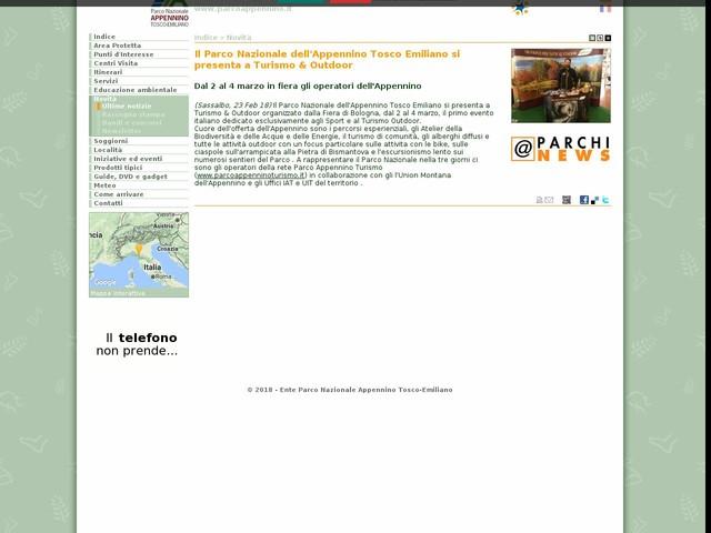 PN Appennino Tosco-Emiliano - Il Parco Nazionale dell'Appennino Tosco Emiliano si presenta a Turismo & Outdoor