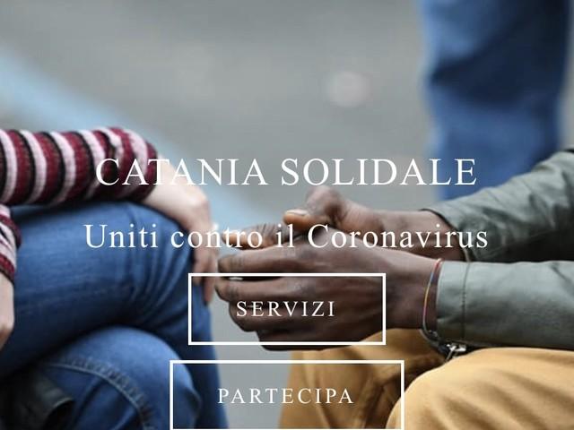 Catania solidale: nasce portale con tutte le iniziative per l'emergenza
