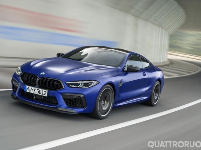 BMW M8 - Fino a 625 CV per coupé e cabrio