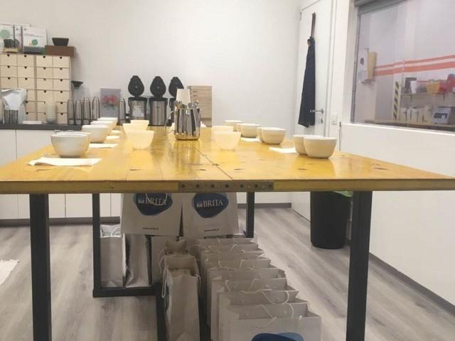Brita e Coffee training Academy insieme per un workshop sul fondamentale rapporto tra acqua e caffè