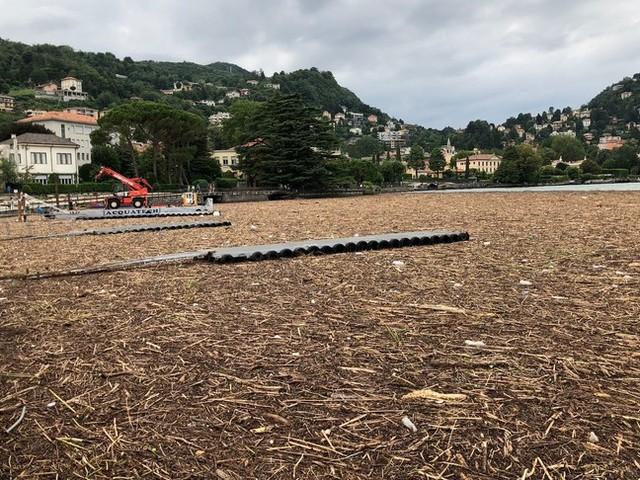 Le immagini dei danni del maltempo sul lago di Como