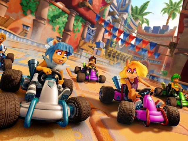 Crash Team Racing Nitro Fueled, nuovi piloti e circuiti gratuiti dopo il lancio!