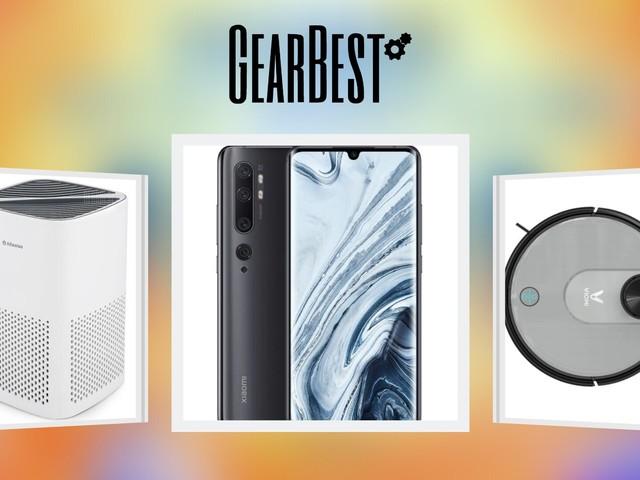 MI Note 10 Pro, un po' di domotica e altro nelle offerte del giorno Gearbest