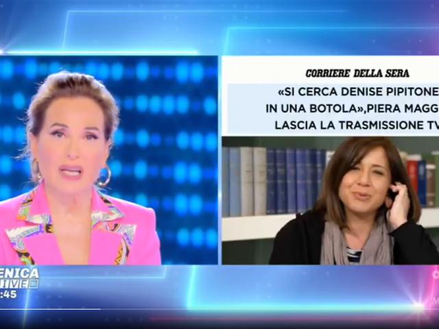 """Caso Denise Pipitone, la d'Urso si toglie un sassolino: """"Piera Maggio da noi non viene ma va nelle altre trasmissioni…"""""""