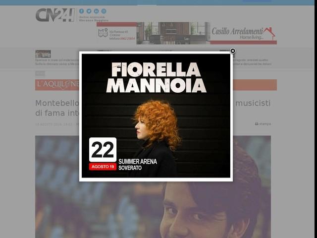 Montebello, 'Invito all'opera': repertorio lirico con musicisti di fama internazionale