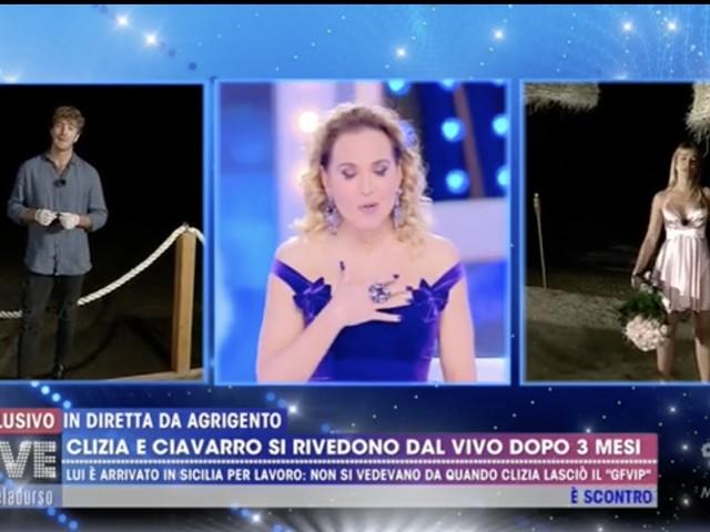 """Paolo e Clizia si erano già visti. Barbara D'Urso li smaschera: """"Perché questa sceneggiata?"""""""