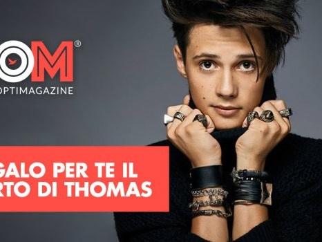 OM – OptiMagazine ti regala il concerto di Thomas a Parma: come partecipare al gioco