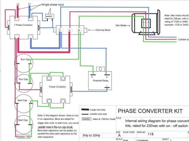 Phase Ac Contactor Wiring Diagram