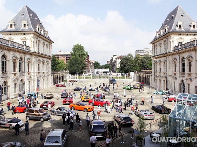 Parco Valentino - Riparte il Salone dell'auto di Torino