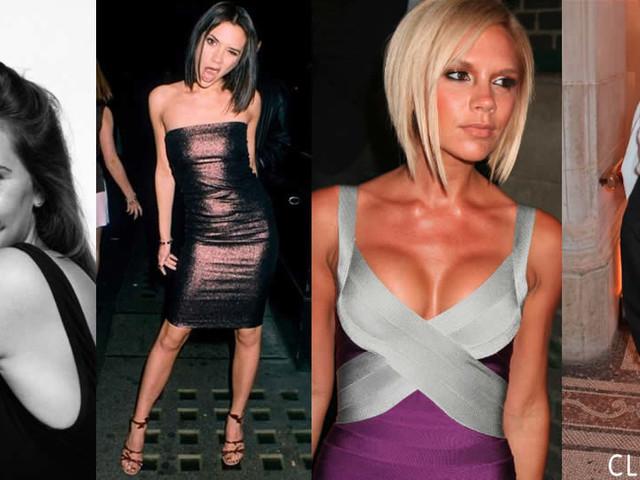 Victoria Beckham prima e dopo