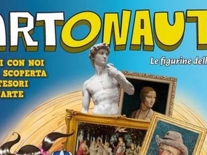 """Arrivano in edicola le figurine degli Artonauti: """"Botticelli celo, Leonardo manca"""""""