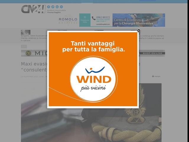 """Maxi evasione fiscale nel Veneziano, coinvolti due """"consulenti"""" reggini"""