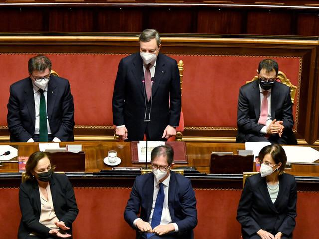 """""""Questo è il governo del Paese"""". Il discorso di Draghi al Senato"""
