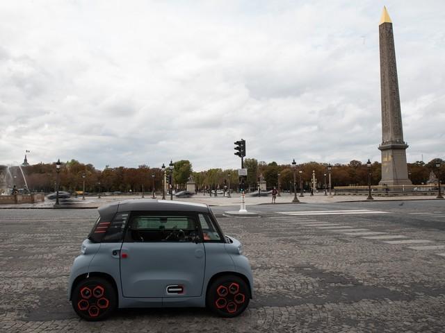 Citroën Ami si evolve in My Ami Cargo: il veicolo commerciale del futuro