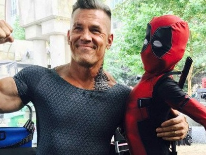 Deadpool 2: nuove foto dal set con Josh Brolin