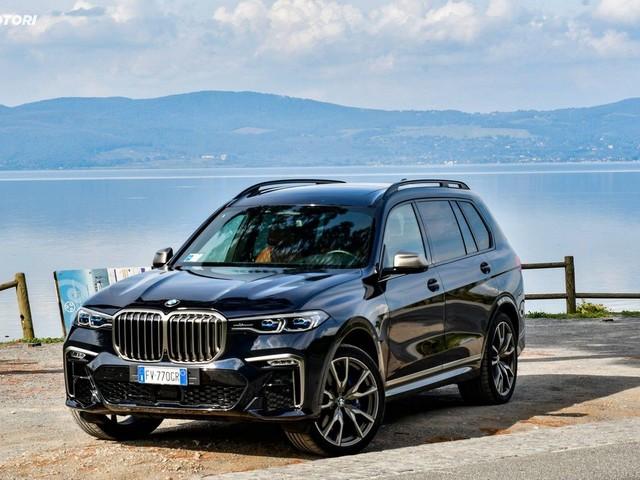 BMW X7 M50d: la prova su strada