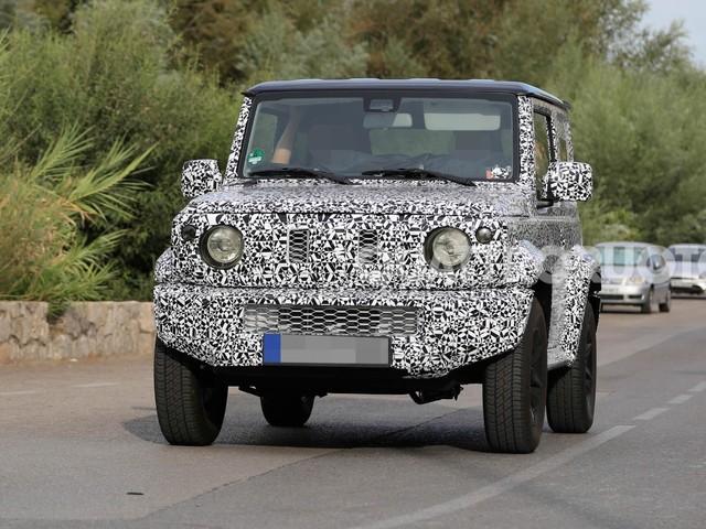 Suzuki Jimny - Primi test per la nuova generazione