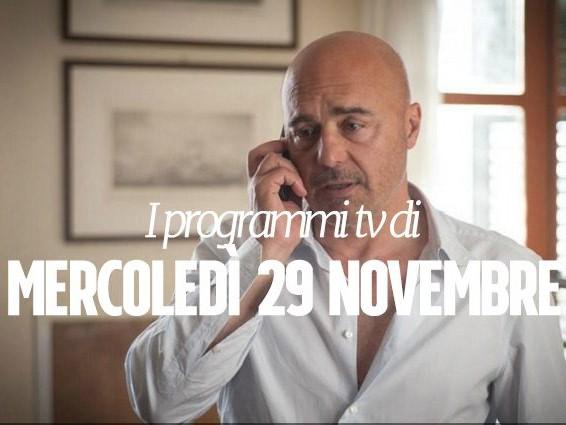 Film e programmi tv di stasera, mercoledì 29 novembre