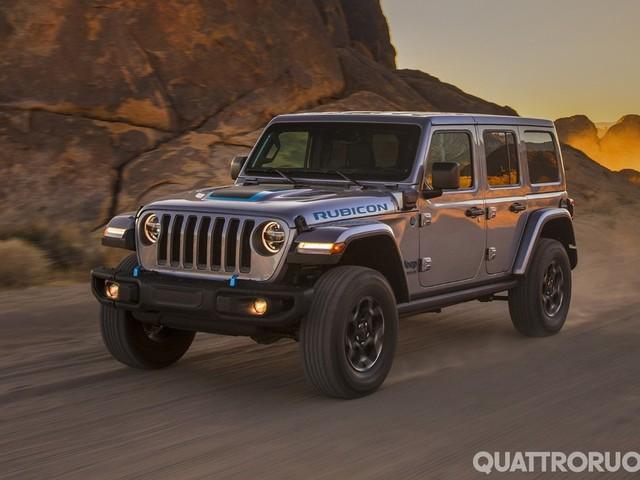 Jeep Wrangler 4xe - La fuoristrada è anche ibrida plug-in