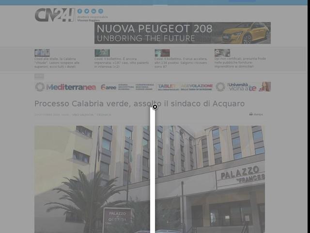 Processo Calabria verde, assolto il sindaco di Acquaro