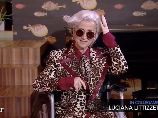 """Luciana Littizzetto imita Morgan a Che tempo che fa: la versione di """"Morgana"""" – VIDEO"""