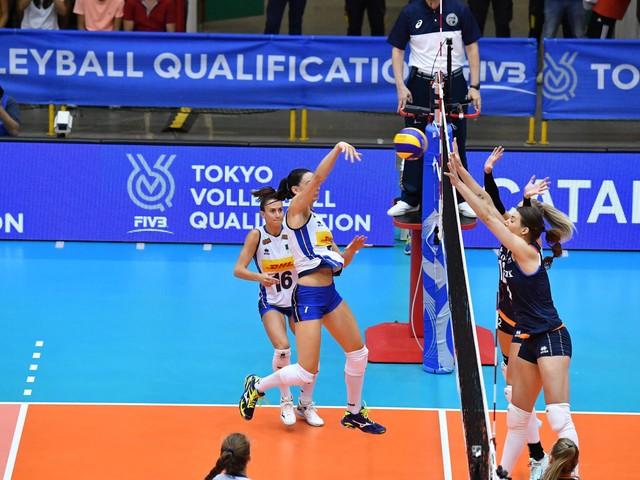 Volley femminile, l'Italia si qualifica per Tokyo 2020!