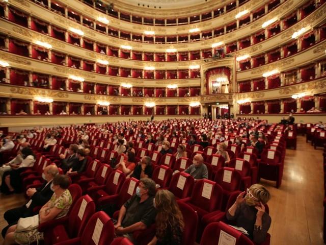 Milano, su il sipario alla Scala dopo 133 giorni