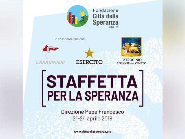 Una staffetta da Padova al Vaticano per consegnare al Papa impegno e speranze