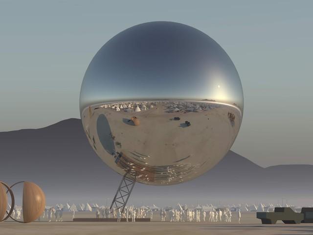 Bjarke Ingels al Burning Man 2018: un video svela come sarà The Orb