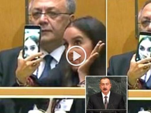 Il padre presidente parla all'Onu di genocidio, lei si fa i selfie