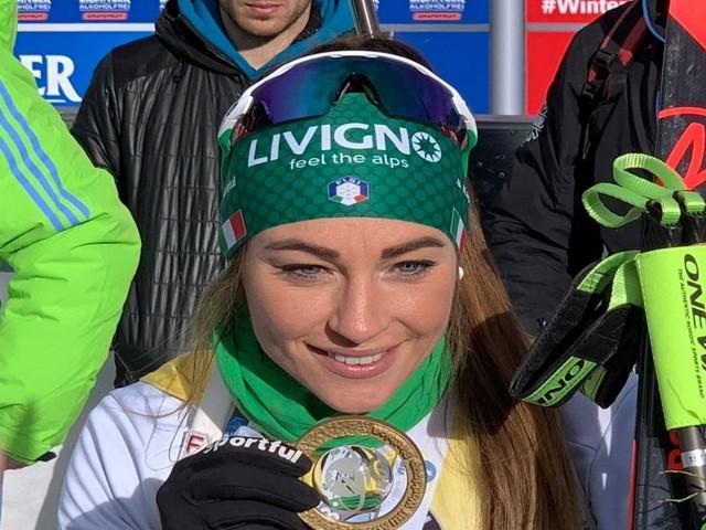 """Biathlon, Dorothea Wierer: """"Quando ero bambina non pensavo di poter vincere la Coppa del Mondo. Sono troppo felice"""""""