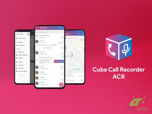 Cube Call Recorder ACR è un'ottima app per registrare le chiamate (anche di Whatsapp, Telegram, Messenger, ecc.)