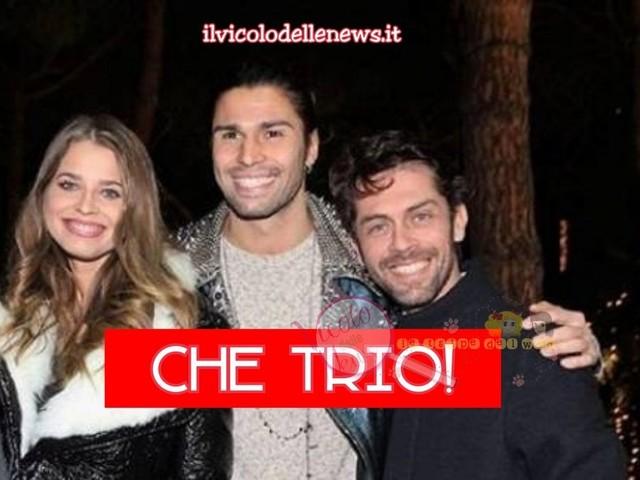 Luca Onestini e Raffaello Tonon tornano a parlare della loro splendida amicizia in un'intervista…e l'ex tronista spende anche belle parole per la fidanzata Ivana Mrazova…che trio portentoso!