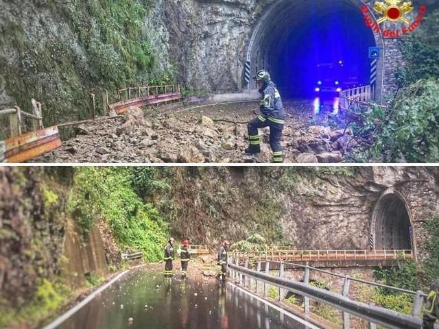 Maltempo, frana nel Lecchese Paura per una diga: evacuate 120 persone da un campeggio