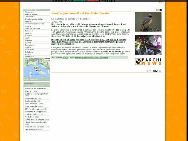 Ente Parchi e Biodiversità - Emilia Occidentale - Nuovi appuntamenti nei Parchi del Ducato