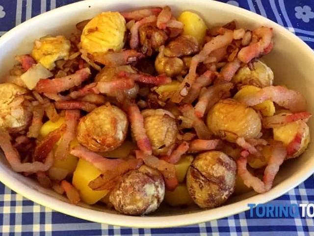 Antipasto di Patate e Castagne alla piemontese: una ricetta gustosa e facilissima
