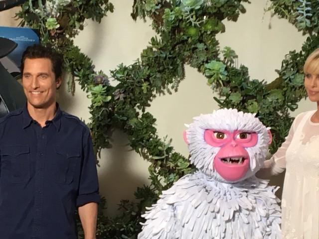 Kubo e la spada magica, intervista HuffPost a Charlize Theron e Matthew McConaughey, voci del cartone della Laika