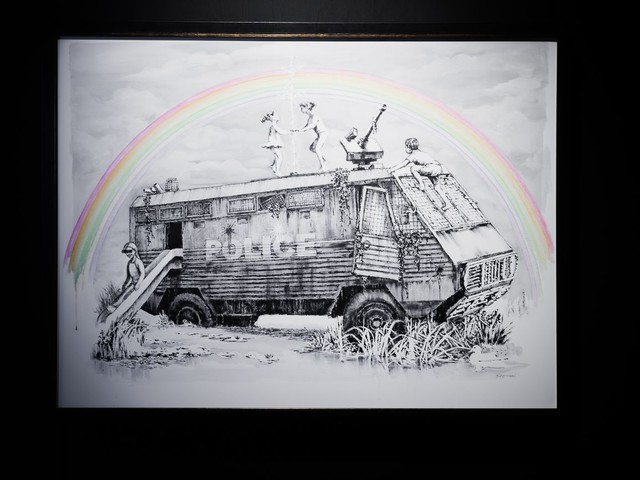 Banksy artista del momento. Anche a Madrid