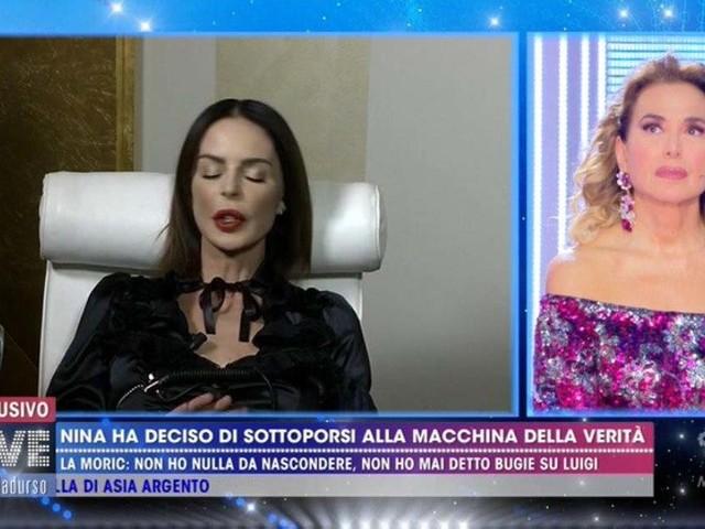 Nina Moric dopo macchina della verità: perchè aveva gli occhi chiusi? Droga e alcol non c'entrano – VIDEO