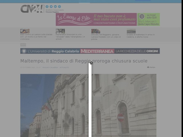 Maltempo, il sindaco di Reggio proroga chiusura scuole
