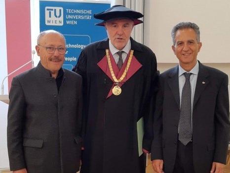 Laurea ad honorem a Vienna per Nicola Leone, nuovo rettore dell'Università della Calabria
