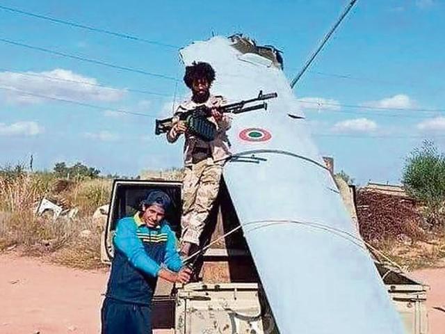 Mistero sulla caduta del drone italiano in missione in Libia