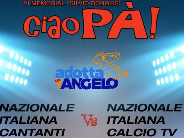 Nazionale Italiana Cantanti vs Calcio TV/ Diretta Italia 1, la chiude Bonolis! (0-2)