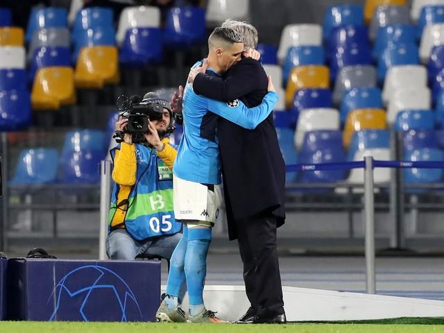 """Napoli, i giocatori salutano Ancelotti. La figlia Katia: """"A testa alta"""""""