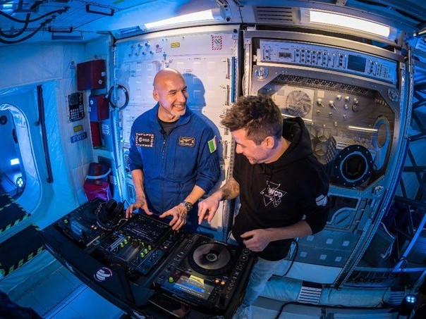 L'astronauta catanese Parmitano sarà il primo dj spaziale