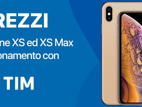 Prezzo TIM di iPhone XS e XS Max: rate ed offerte disponibili