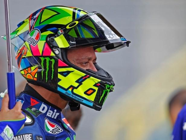 """Rossi non molla: """"In gara può succedere di tutto"""""""